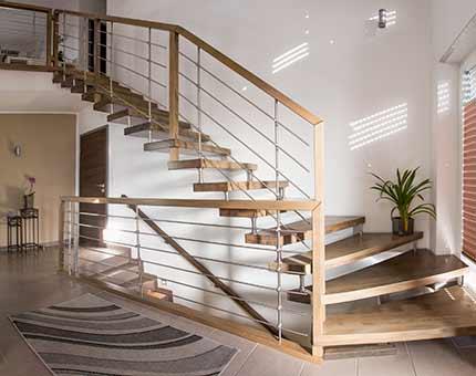 Freitragende Treppen | Carstens Tischlerei, Hude